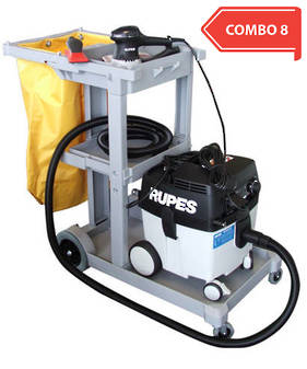 RUPES Compact Dustless Sander Vacuum Trolley Combo RUS130EL COMBO 8