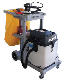 RUPES New Generation Dustless Sander Vacuum Trolley Combo RUS145EL