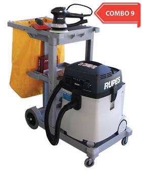 RUPES New Generation Dustless Sander Vacuum Trolley Combo RUS145EL COMBO 9