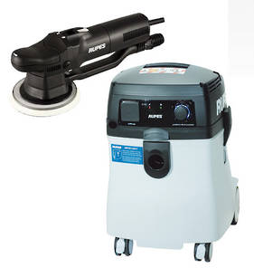 RUPES New Generation Dustless Sander Vacuum Combo RUS145EL and RUBR109AES