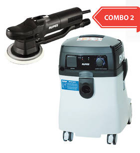 RUPES New Generation Dustless Sander Vacuum Combo RUS145EL and RUBR109AES COMBO 2