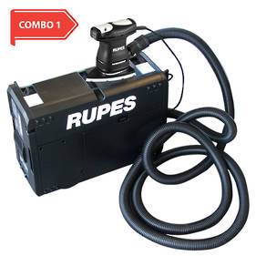 RUPES Portable Dust Extraction Combo RUSV10E and RULS71T COMBO 1