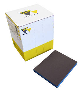 Sia Siasponge Flex (7983) Double Sided Pad Ultra Fine for Wet or Dry Sanding