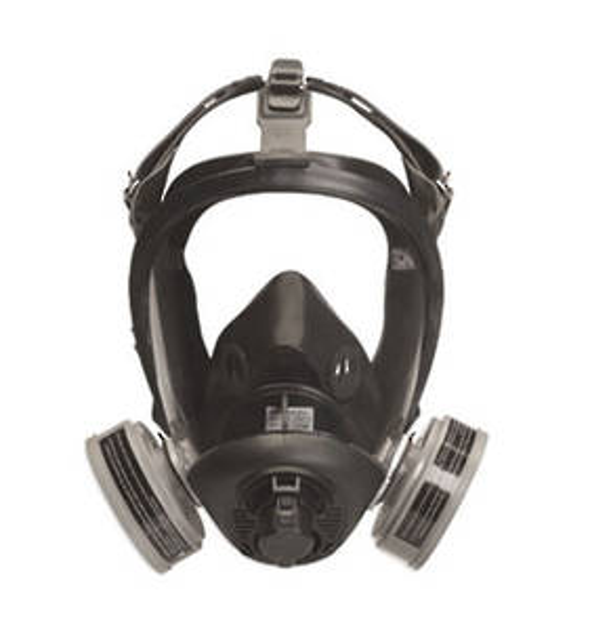 Sperian Optifit Convertible Air Purifying Respirator - 5 Strap Suspension Medium