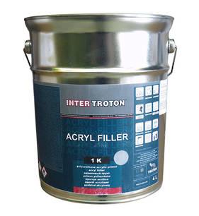 Inter Troton Acrylic Filler 4 Litre
