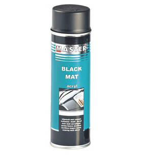 Troton Master Acrylic Black Matt Spray 500ml