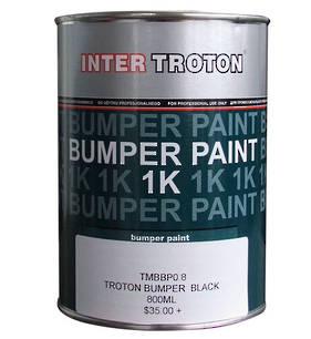 Inter Troton Bumper Paint Black 800ml