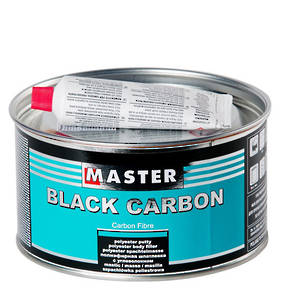 Troton Master Black Carbon Polyester Putty  1 Litre