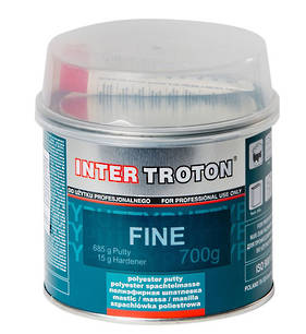Inter Troton Fine Polyester Putty Body Filler 700g