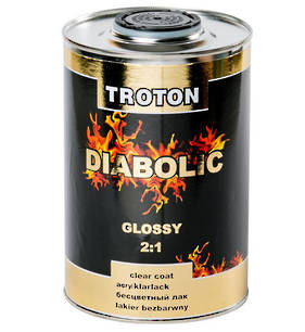 Troton Diabolic 2:1 Acrylic Clearcoat Gloss 1 Litre