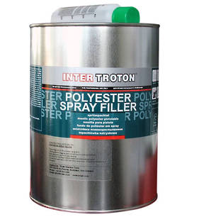 Inter Troton 2K Polyester Spray Filler 3Kg