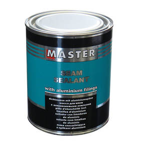 Troton Master Brushable Seam Sealant with Aluminium Filings 0.85Kg