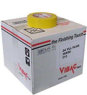 Vibac 313 Yellow Automotive Masking Tape 36mm