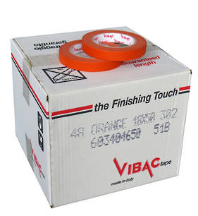 Vibac 302 Orange Automotive Masking Tape 18mm
