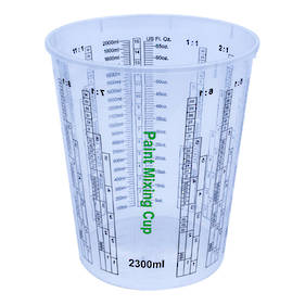 2300ml Printed Mixing Cups