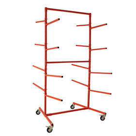 Double Sided Floor Bumper Stand