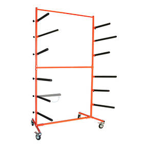 Deluxe Single Sided Floor Bumper Stand