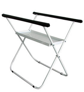 Panel Stand with Tray