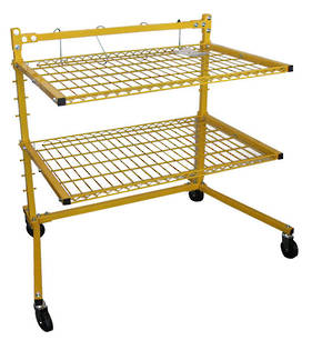 2 Shelf Parts Stand