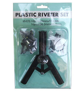 Plastic Rivet Tool Set