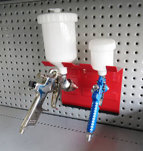 Magnetic Double Spray Gun Holder