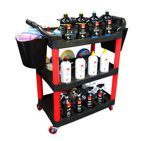 Multipurpose Detailers Polishing Trolley