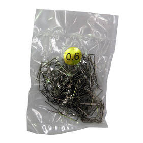 0.6mm Flat Staples Pack of 100