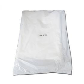 Medium Duty Plastic Drop Sheet 4M*5M