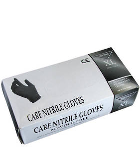Black Nitrile Disposable Powder Free Gloves
