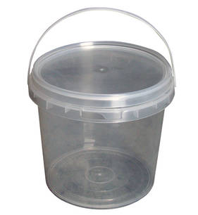 5 Litre Empty Plastic Paint Bucket with Lid