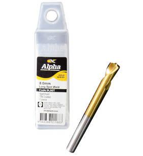 Alpha 8mm Spot Weld Drill Bit 75mm