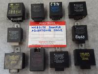 Electrical Control Units - Flasher-Relay