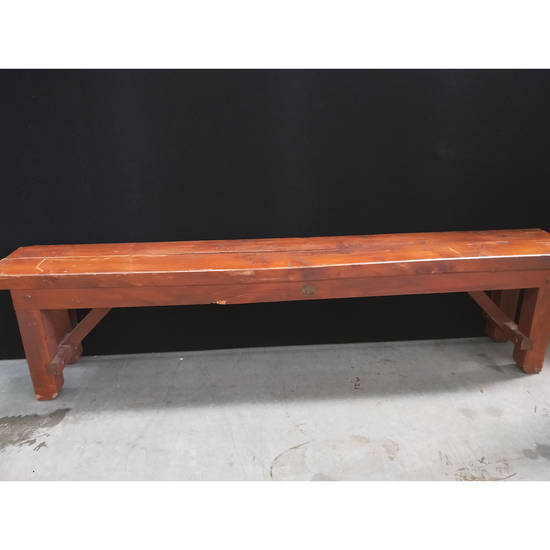 Bench Seat - Banquet - Black Dog