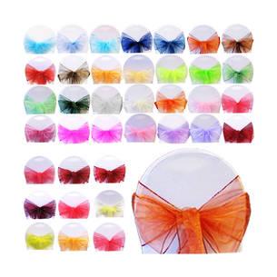 Organza Sash - Wide Range of Colors