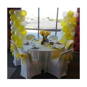 Chair Cover - White Lycra