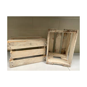 Old Beer Crate White