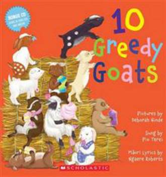 10 Greedy Goats with CD