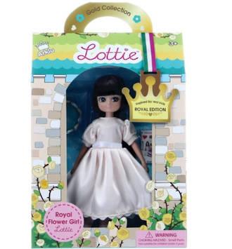 Lottie Doll -  Royal Flower Girl