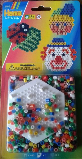 Hama Hexagon Set 350 Beads H4103
