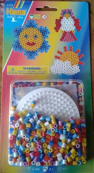 Hama Circle Set, 400 Beads H4102
