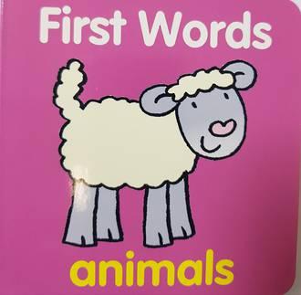 First Words Animals - Board book