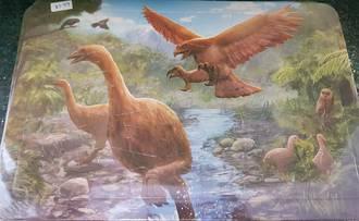 Extinct Animals Of New Zealand - Moa and Haast Eagle