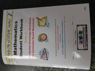 Help me at Home Mathematics Student Workbook 8