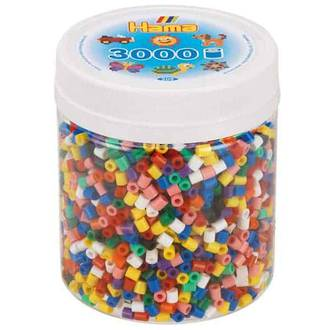 Hama Beads 3000 Solid mix H209-00