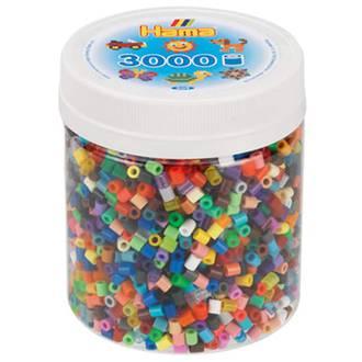 Hama Beads 3000 Everything mix H209-68