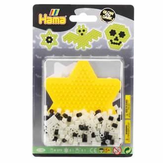 Hama Blister pack Glow in the Dark Star H4180