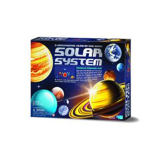 4M 3D Glow In The Dark Solar System Model Making Kit