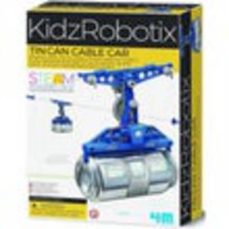 4M KidzRobotix Tin Can Cable Car