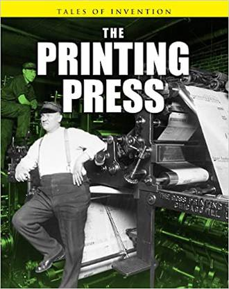 The printing press by Richard and Louise Spilsbury