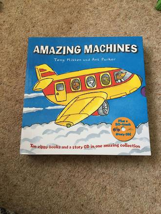 Amazing Machines Boxed set by Tony Mitton And Ant Parker